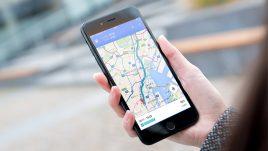 【乗り換え案内】を最速で表示!Google マップ アプリが超便利