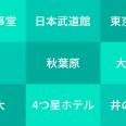 【意外に面白い!】都内10箇所のスポット別人気アプリを調べてみた