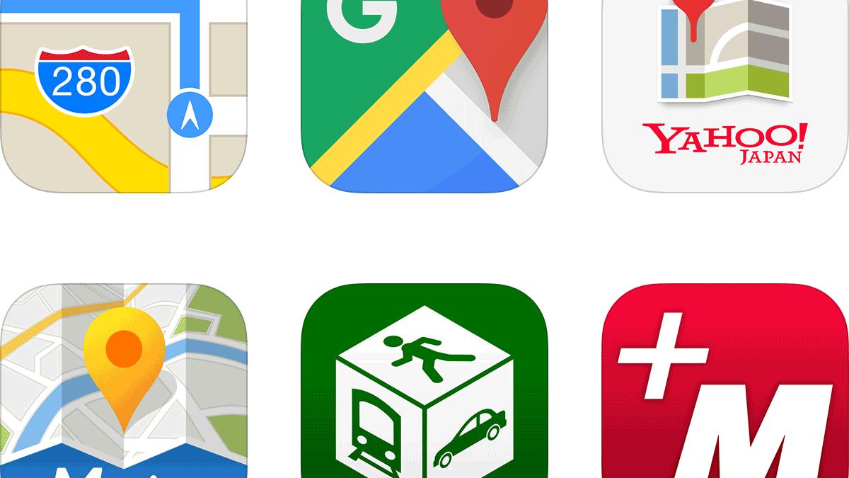 地図アプリ7選 – 画面や無料機能で比較!おすすめの1本は?